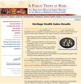 Heritage Health Index